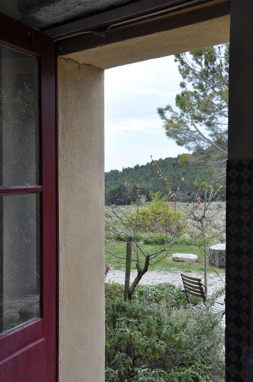 Clos de Caveau view from outside gite