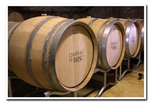Chateau-de-Brau-Oak-Barrels
