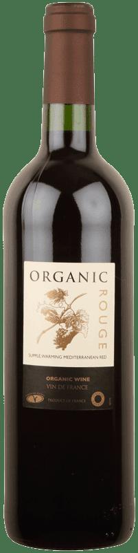 organic roots rouge vin de france
