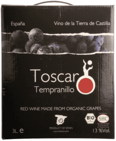 Toscar Tinto Bag In Box 3 Litres-0