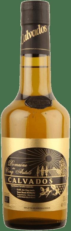 Calvados Hors d'Age Cinq Autels 35cl-0