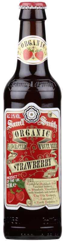 Samuel Smiths Organic Strawberry Fruit Beer-0