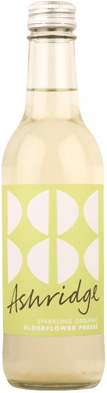 Ashridge Organic Sparkling Elderflower Pressé-0