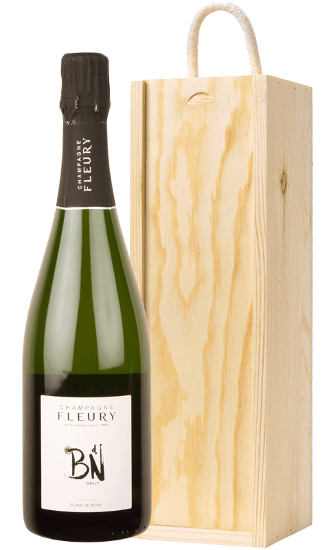 Champagne Fleury Blanc de Noirs with gift box-0