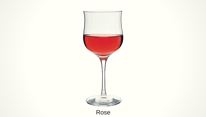 Types of Rose Wine Glasses