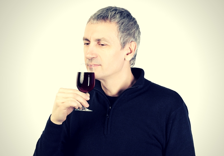 how to taste wine smelling