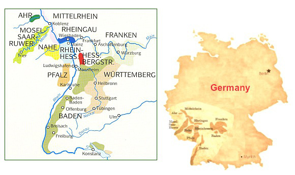 german riesling wine regions