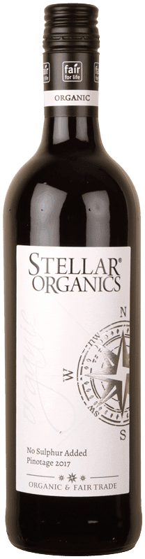 Stellar Pinotage No Added Sulphur-0