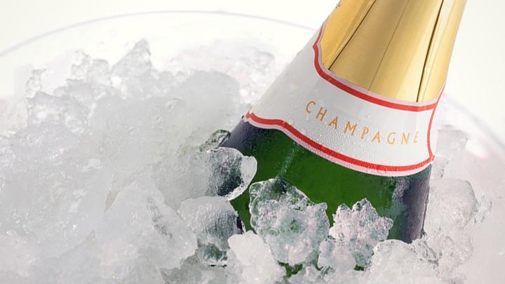 champagne brand label