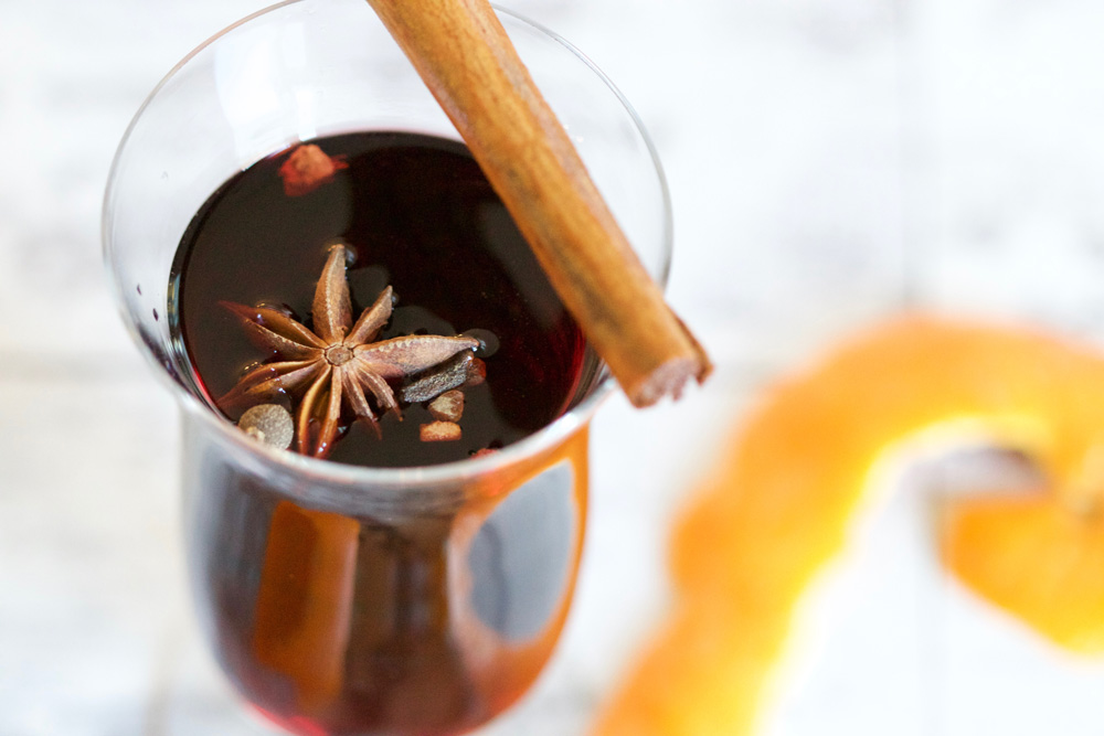 Traditional Gluhwein Mulled Wine