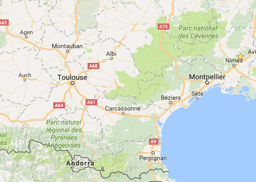 languedoc-wine-tour-carcassanne-map