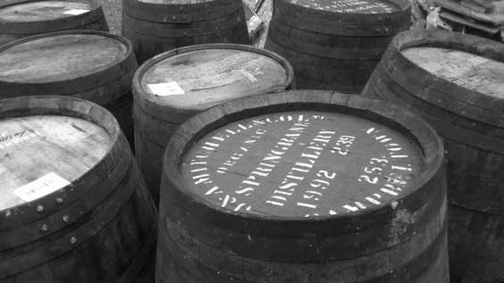 whisky-barrels