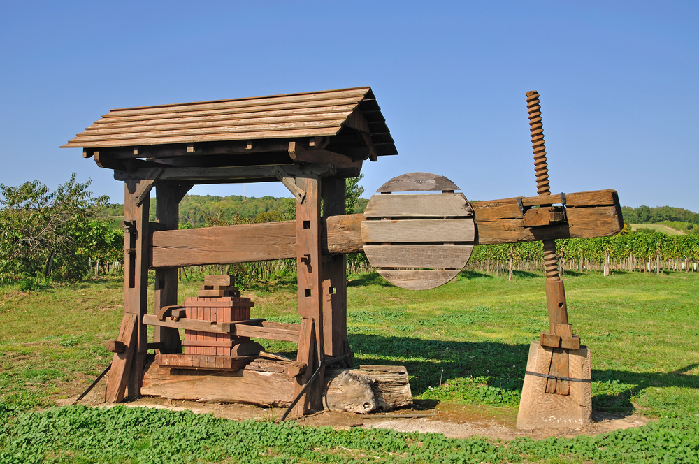 historic winepress