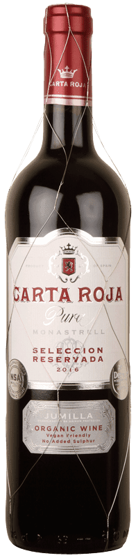 Carta Roja Pura Monastrell No Added Sulphur-0
