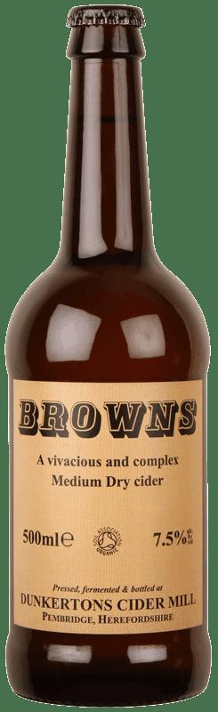 Dunkertons Browns Cider-0