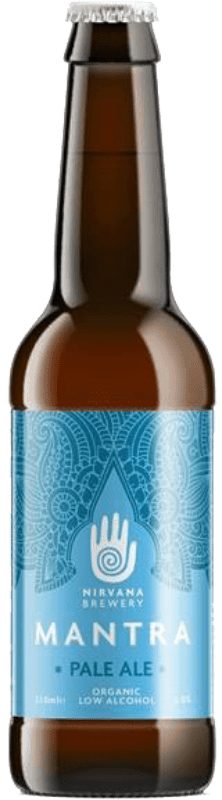 Nirvana Brewery Mantra Pale Ale Low Alcohol 0.5% - BBE June '19-0