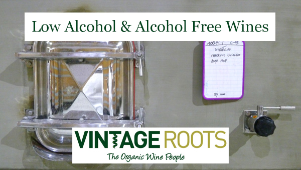 Low alcohol and alcohol free wines