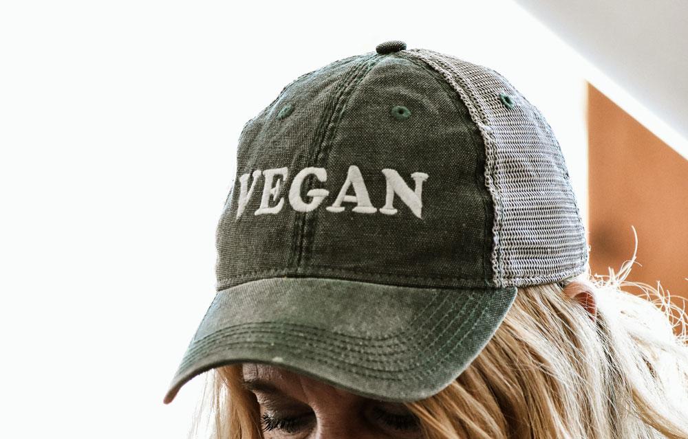 Vegan hat