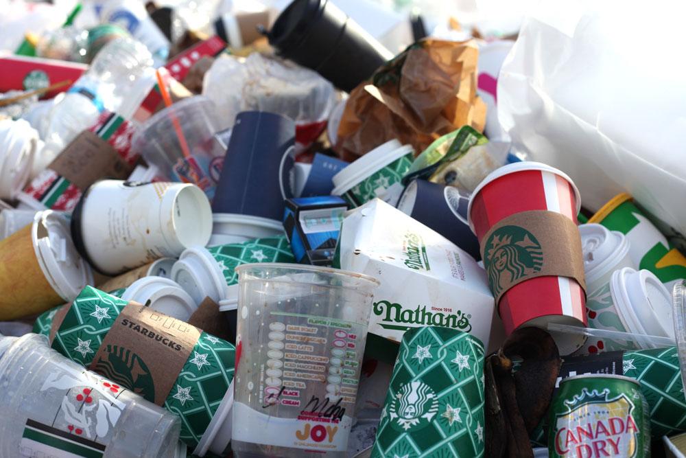 Waste rubbish
